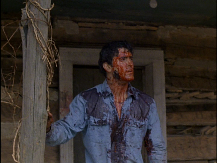 The Evil Dead 1981-Bruce-Campbell-bloody-Ash