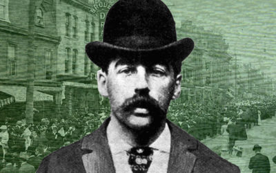 "Psychological Profile of ""Murder Castle"" Killer H.H. Holmes What made this dapper turn-of-the-century killing machine tick?"