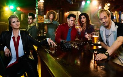 Talking ASH VS EVIL DEAD with Stars Ray Santiago, Dana DeLorenzo, Ted Raimi on After Hours AM/America's Most Haunted Radio Starz has a smash on its hands with continuation of the EVIL DEAD saga