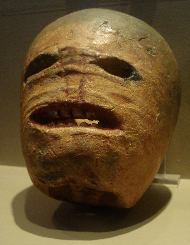Traditional Irish turnip jack-o-lantern - Museum of Irish Country Life