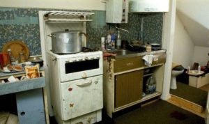 Dennis Nilsen's Second Flat, and the pot he used to boil heads.