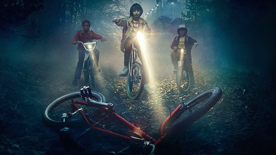 Stranger Things bikes
