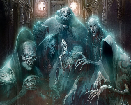 Gathering of Evil Ghosts