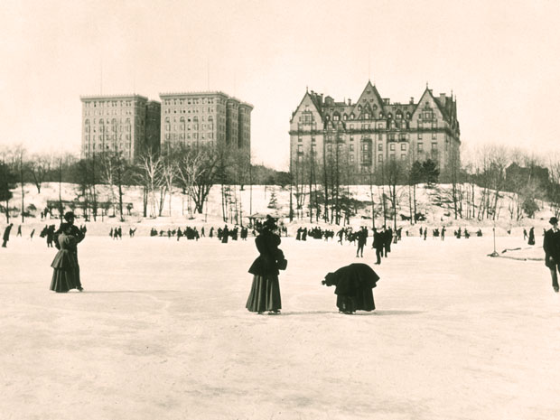 The Dakota Building winter 1890