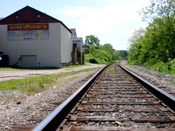 Bobby Mackey's railroad tracks