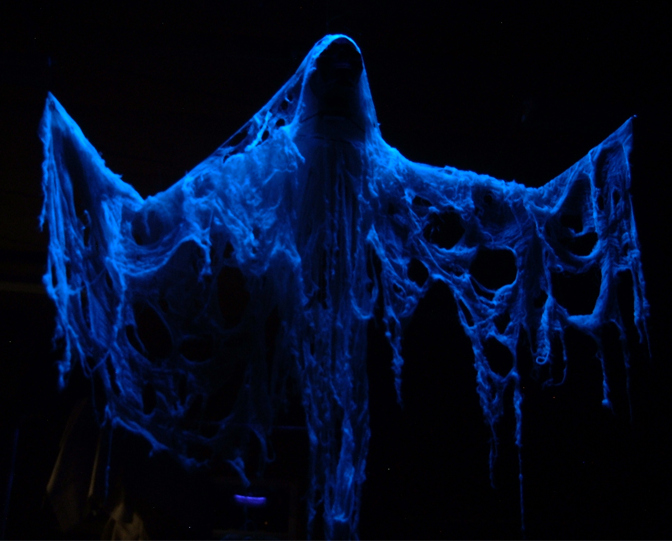 Halloween Symbols – Ghosts and Spirits On Halloween the veil between the living and the dead draws aside and ghosts are free to walk among us