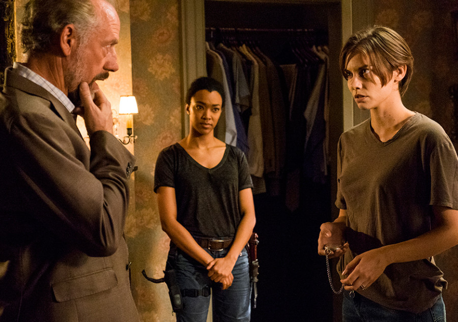 The Walking Dead ep 705 Gregory Sasha Maggie