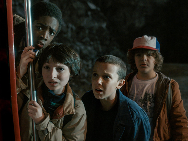best scary shows stranger things