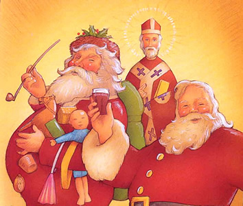 Santa Claus St. Nicholas
