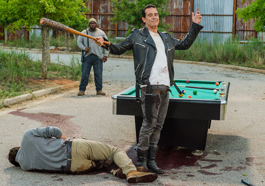 The Walking Dead-episode-708-spencer-negan