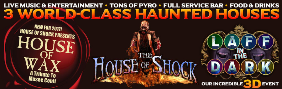 House of Shock 3 Attractions