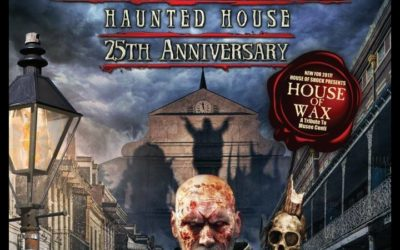 Celebrating 25 Years of New Orleans' Iconic HOUSE OF SHOCK Haunted Attraction on After Hours AM/America's Most Haunted Radio Talking with founders Steve Joseph and Jay Gracianette