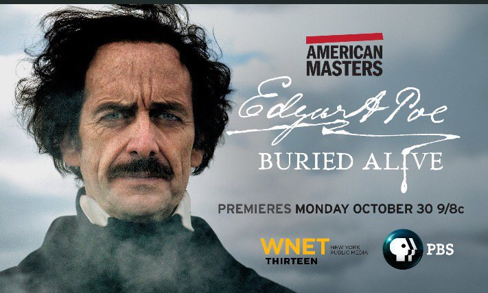 Unveiling the Man Behind the Image with EDGAR ALLAN POE BURIED ALIVE Filmmaker Eric Stange on After Hours AM/America's Most Haunted Radio American Masters dramatic documentary film seeks to set the record straight