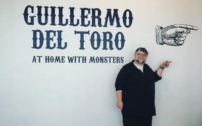Exploring Art Gallery of Ontario's Monstrous Guillermo del Toro Exhibit with Curator Jim Shedden on After Hours AM/America's Most Haunted Radio Multimedia affair including sculpture, paintings, prints, photography, costumes, ancient artifacts, books, maquettes and film