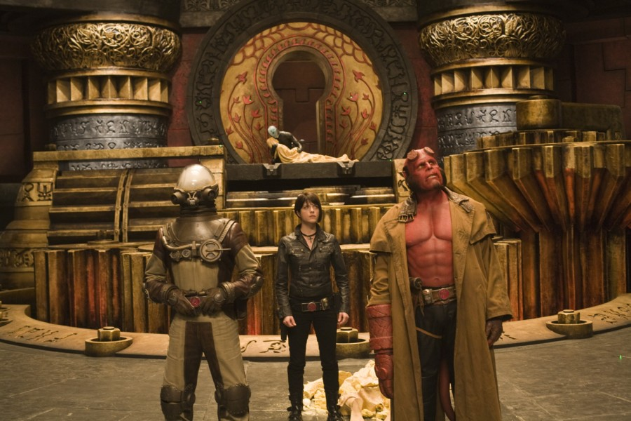 GDT Hellboy exhibit