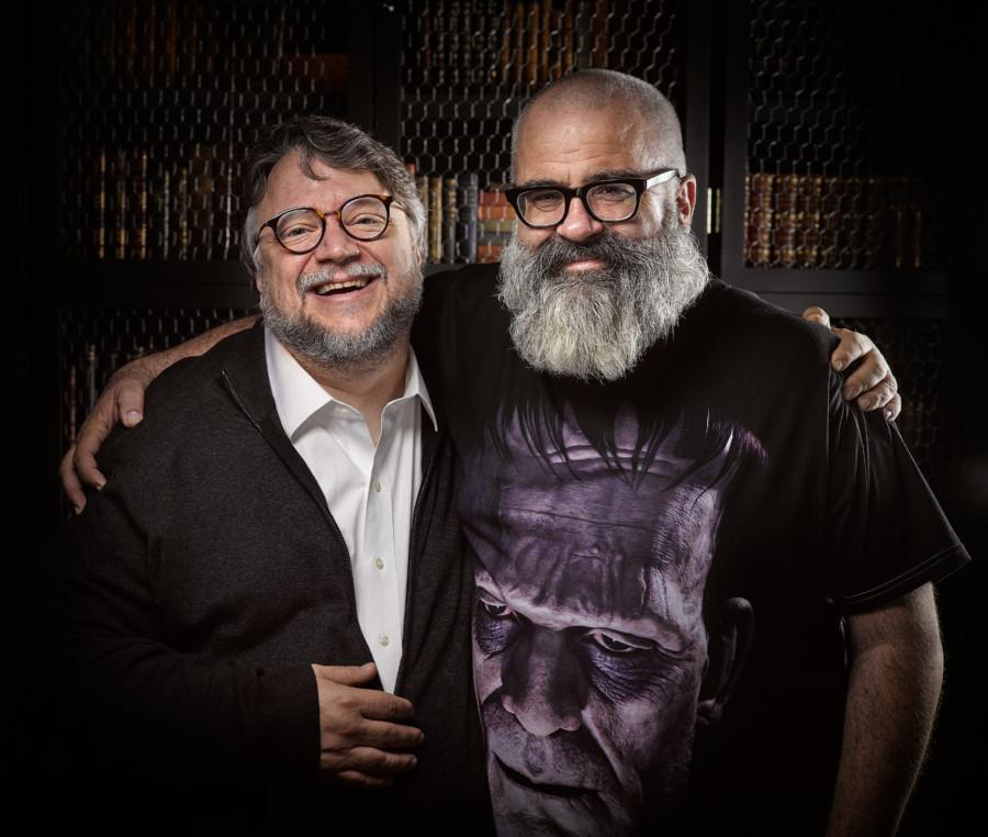 Jim Sheddon Guillermo del Toro