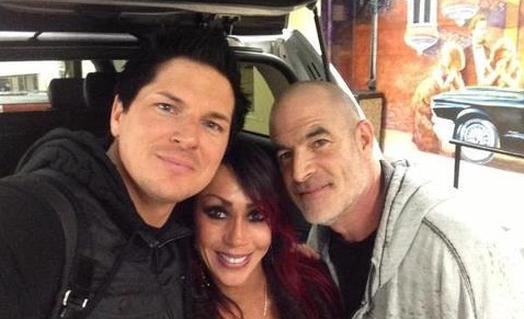 Mark and Debby Constantino Zak Bagans