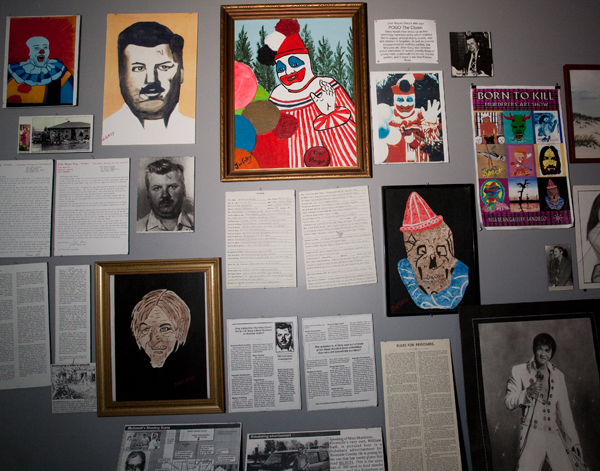 Serial killer wall-Museum of Death