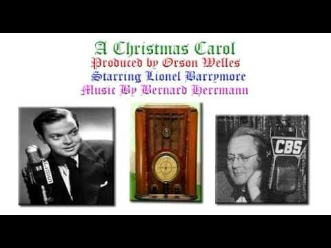 Orson Welles' 1939 A CHRISTMAS CAROL on After Hours AM/America's Most Haunted Radio Christmas Special edition with ghosts of past, present, and future