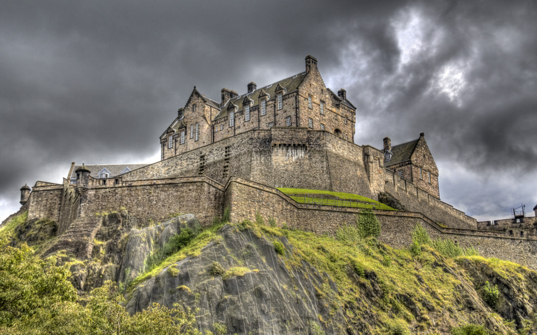 Ghosts of Edinburgh Castle Scotland's haunted fortress on the hill
