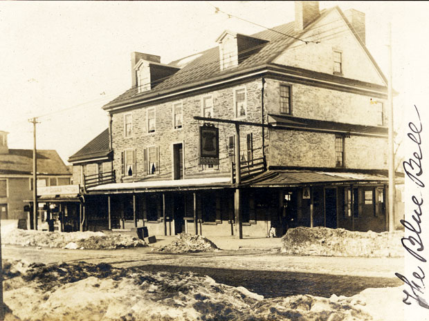 "Philadelphia's Haunted Blue Bell Inn ""The inn at the crossroads of history"" frequented by George Washington and colonial ghosts"