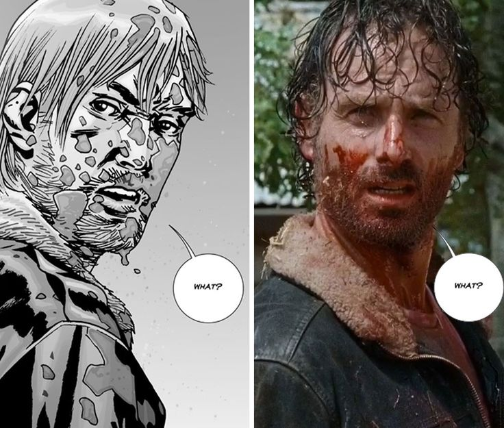 THE WALKING DEAD – TV Rick vs Comic Rick TV show must strike out on its own against Negan