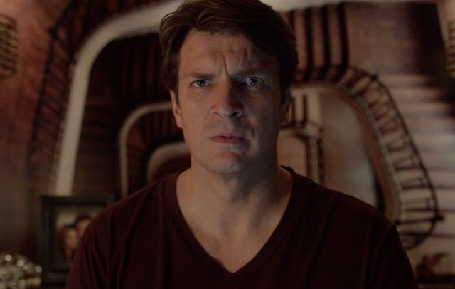 """CASTLE Goes Supernatural-ish In """"Hell to Pay"""" episode, Castle thinks he's dealing with the Anti-Christ"""