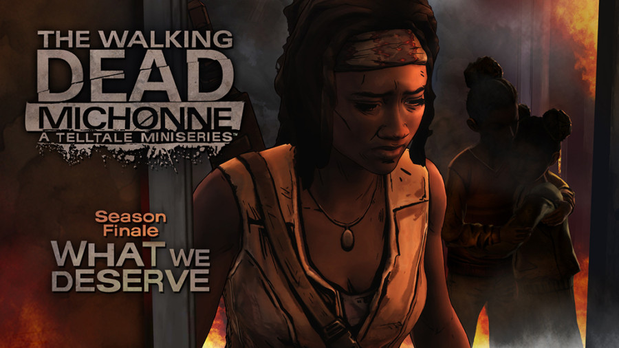 """The Walking Dead: Michonne – Episode 3 – What We Deserve"" for Playstation 4"