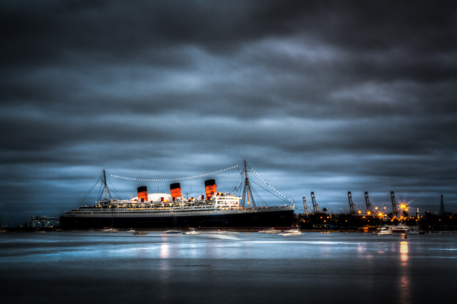 The Queen Mary at 80 – Grand History, Harrowing Hauntings