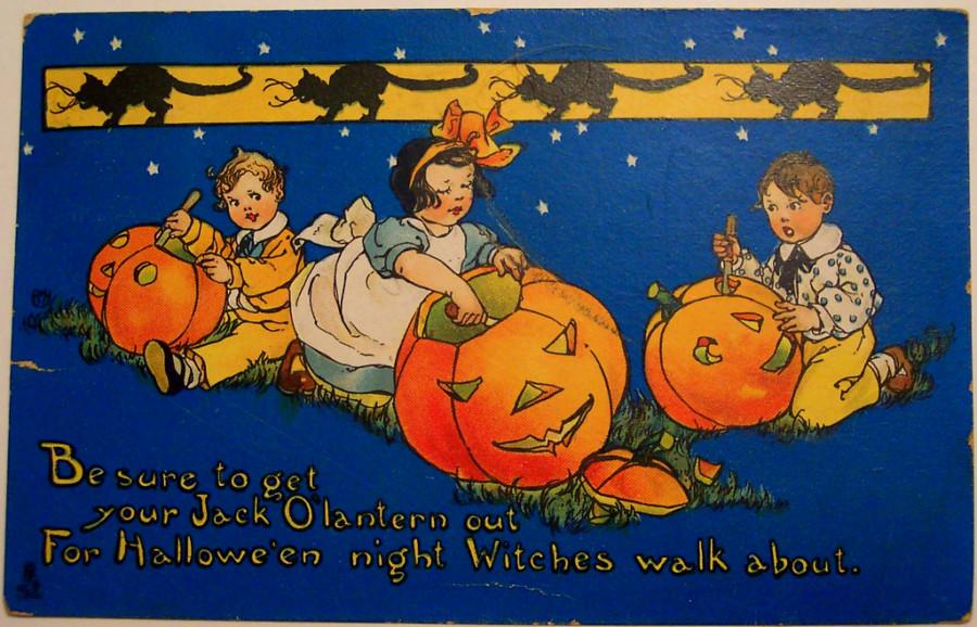 Halloween Symbols – Pumpkins and Jack-O-Lanterns