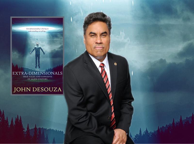 Exposing the THE EXTRA-DIMENSIONALS with Author, Former FBI Agent John DeSouza on After Hours AM/America's Most Haunted Radio Where are they from? What are they doing here?