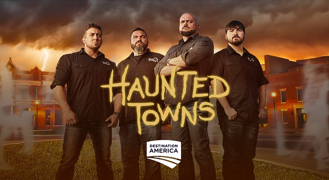 Investigating Destination America's HAUNTED TOWNS with TWC's Porter on After Hours AM/America's Most Haunted Radio Tennessee Wraith Chasers featured in new show