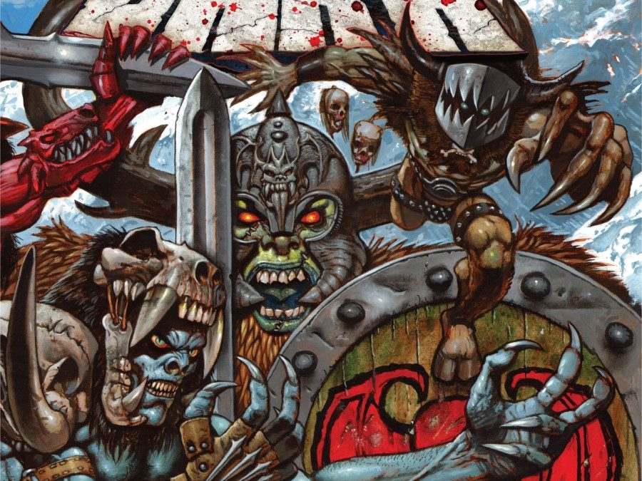 Horror-Metal Gods GWAR Back with THE BLOOD OF GODS Album and Tour on After Hours AM/America's Most Haunted Radio Talking evisceration, music, and smoking-hot babes with lead guitarist Pustulus Maximus