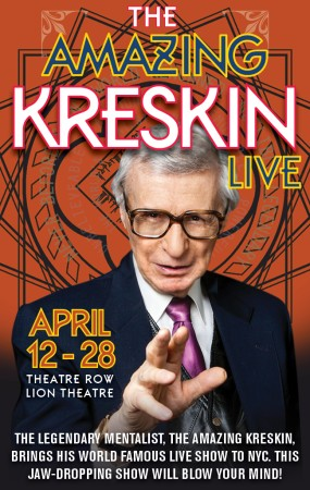 Previewing Off-Broadway Show THE AMAZING KRESKIN LIVE with The Amazing Kreskin on After Hours AM/America's Most Haunted Radio Six decades of amazingness