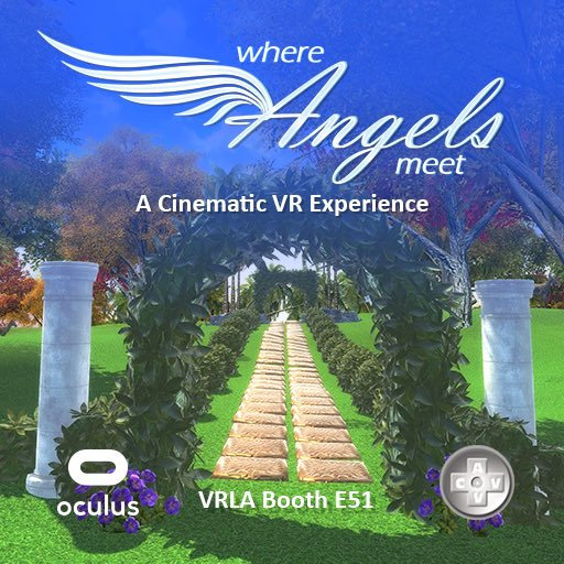 Entering the Wondrous VR World of WHERE ANGELS MEET with Creator Micah Jackson on After Hours AM/America's Most Haunted Radio