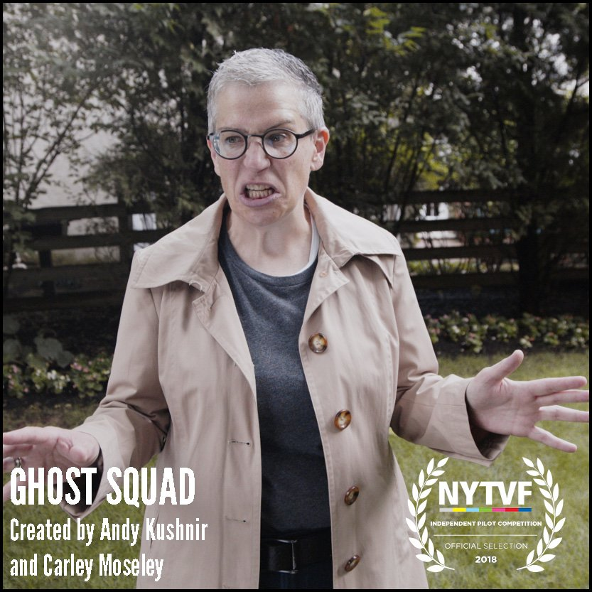 Talking Paranormal Mockumentary GHOST SQUAD with Creators Andy Kushnir and Carley Moseley on After Hours AM/America's Most Haunted Radio Do ghost hunters take themselves too seriously?