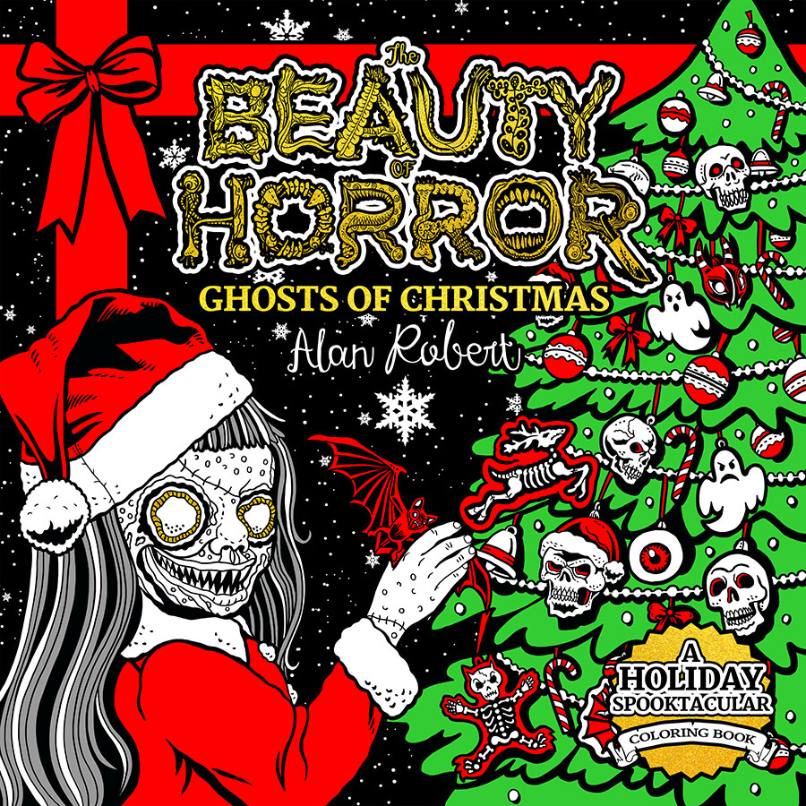 Celebrating THE BEAUTY OF HORROR: GHOSTS OF CHRISTMAS Coloring Book with Creator Alan Robert on After Hours AM/America's Most Haunted Radio Writer, artist, Life of Agony bassist and songwriter - Alan Robert wears many hats!