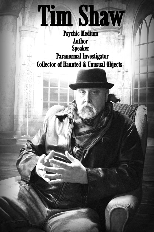 Talking Haunted Objects and More with Paranormal Legend Tim Shaw on After Hours AM/America's Most Haunted Radio The Reverend Tim is a paranormal researcher and investigator, medium, author, lecturer, media personality, and man about town