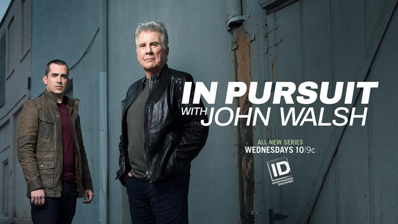 Exploring Investigation Discovery's IN PURSUIT WITH JOHN WALSH with Digital Producer Michelle Sigona on After Hours AM/The Criminal Code Walsh and team return to track down the guilty and rescue the innocent